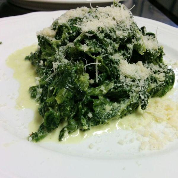 Spinaci burro e Parmigiano